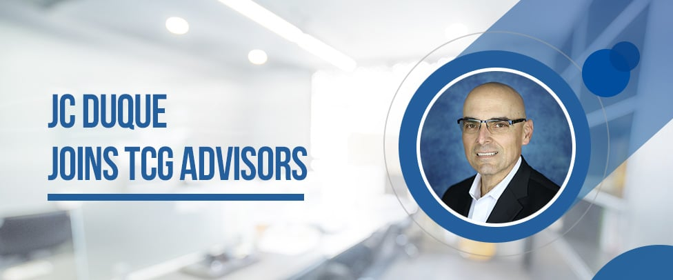 JC Duque Joins TCG Advisors